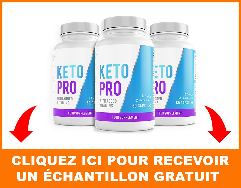 Echantillon gratuit de Keto Pro