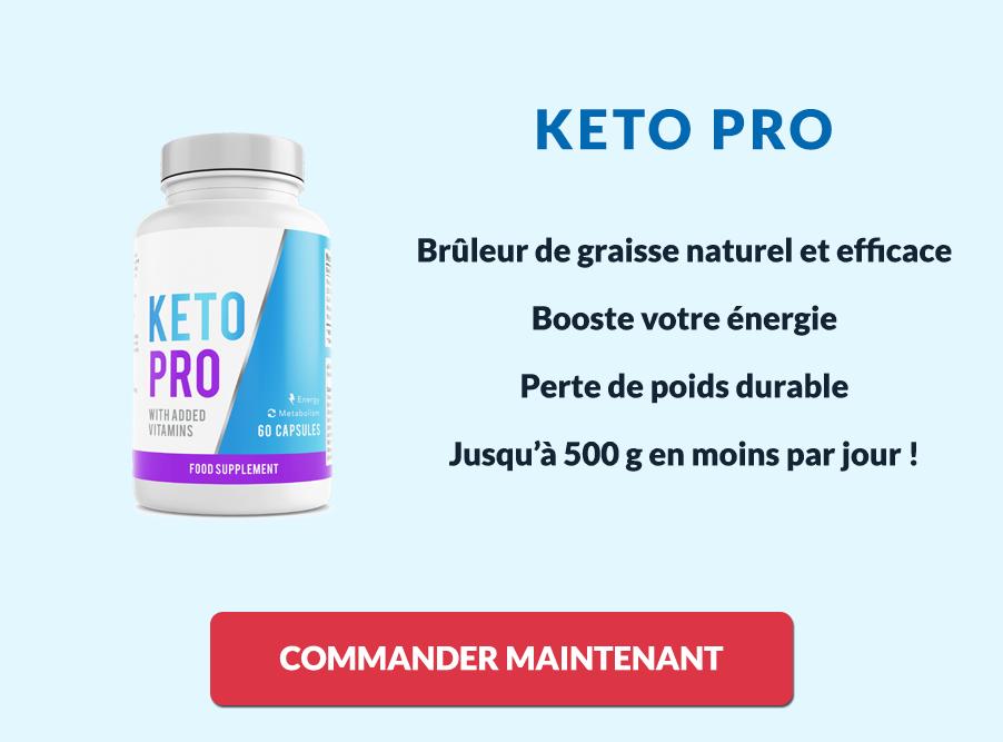 Avantages et bénéfices de Keto Pro